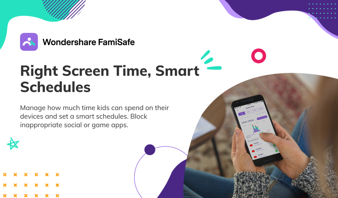 How to Monitor OR Control the Screen Time Using the FamiSafe Application?